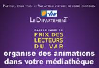 Prix des Lecteurs du Var - Spectacles et Ateliers -
