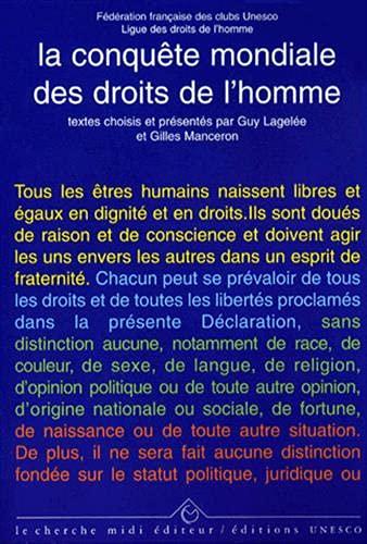 La Conquête mondiale des droits de l'homme